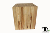Branch Cube Stool/ Side Table, Accent Table - Teak Desire