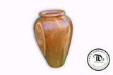 Eroded Teak Barrel Vase - Reclaimed Teak Wood - Teak Desire