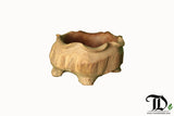 High Bowl - Flower Planter Pot - Reclaimed Teak Root Solid Wood - Teak Desire