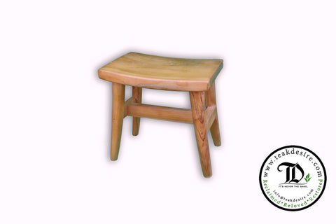 Kids Stool - Reclaimed Teak Wood - Teak Desire