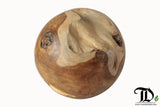 Reclaimed Teak Wood Root Ball - 40cm Display Decorative Showpiece - Teak Desire