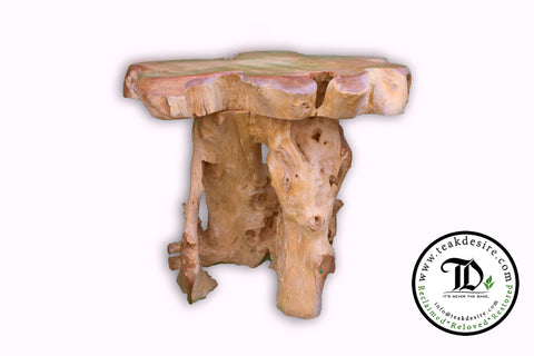 Teak Root Solid Wood Side Table, Accent Table, End Table, Tea Coffee, Sofa Side Table Bintang Side Table - Teak Desire