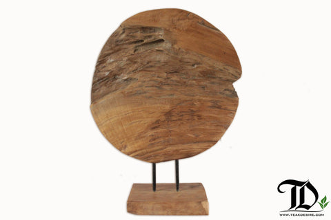 Round Art Decor - Teak Desire