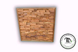 Square Wall Art Decor - Reclaimed Teak Wood - Teak Desire