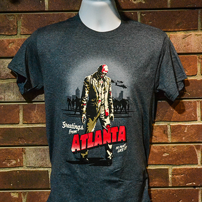 Greetings from Atlanta Zombie T-Shirt