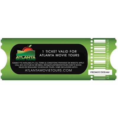 Atlanta Movie Tours Gift Certificate