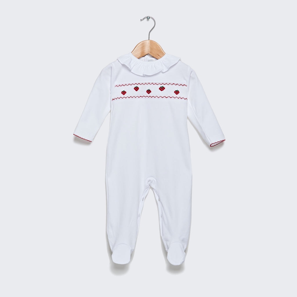 Strawberry sleepsuit