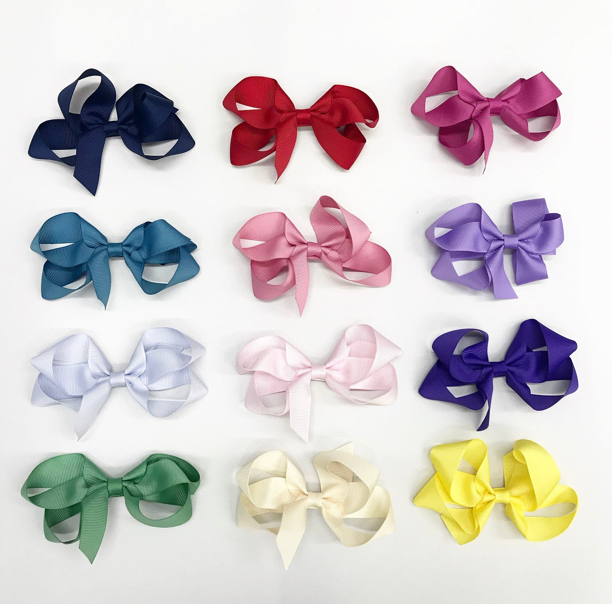 Large bow hair slide