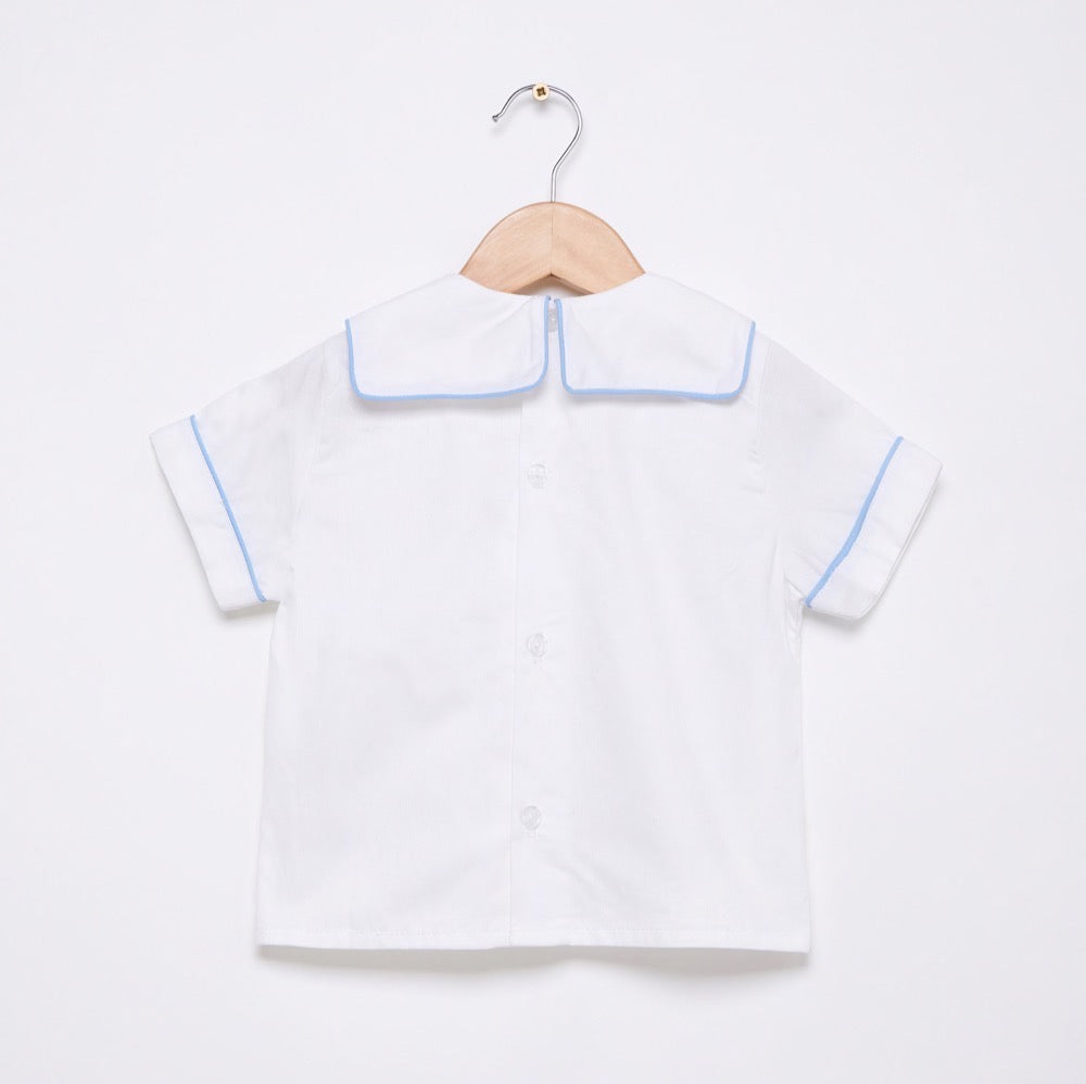 Boat square collared shirt