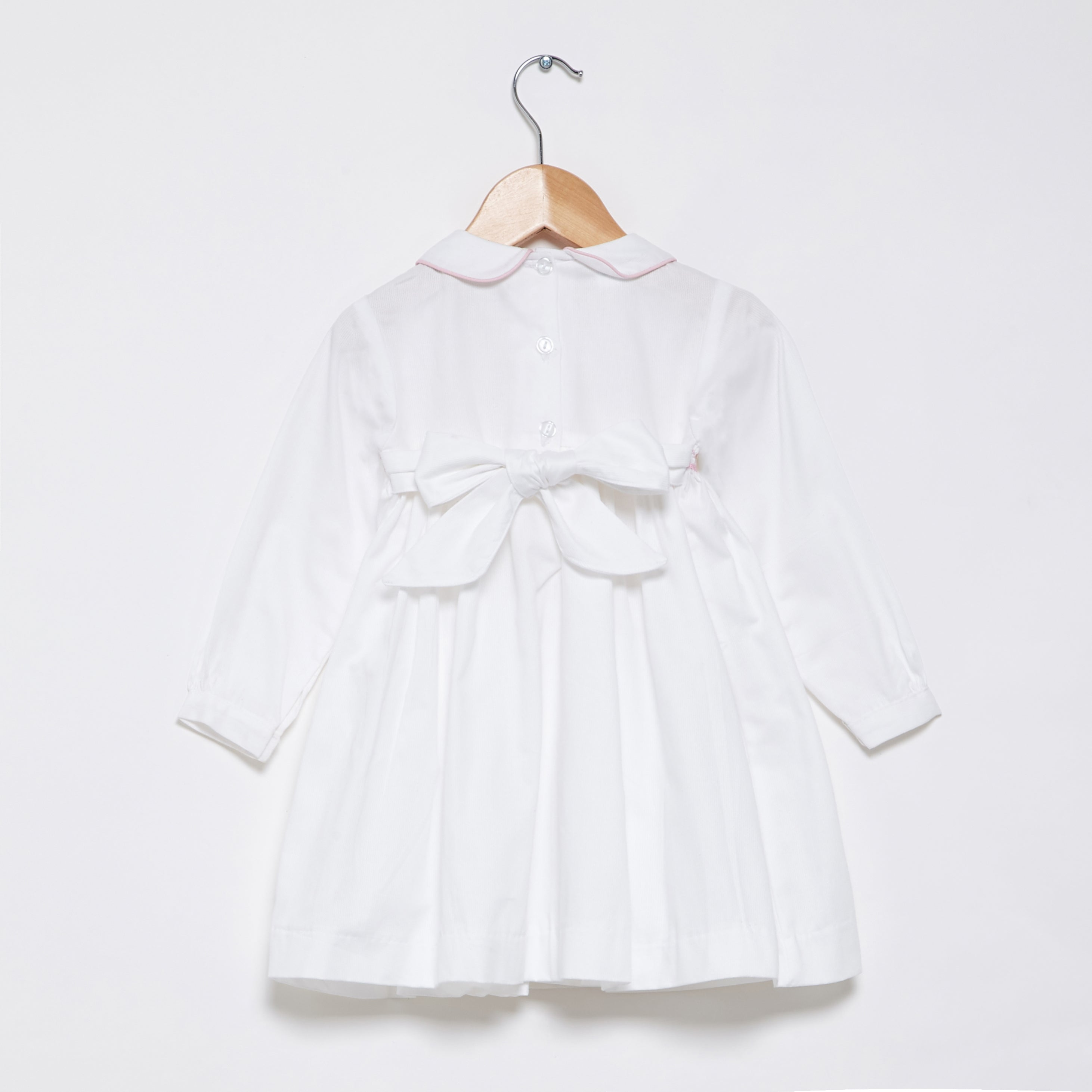 Pale pink baby dress