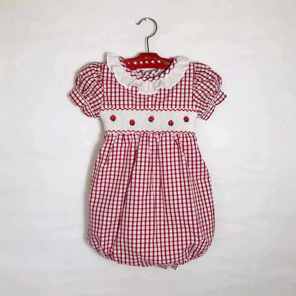 Strawberry Fields Romper