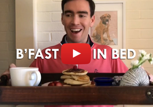 B'fast In Bed: A Valentine's Vlog