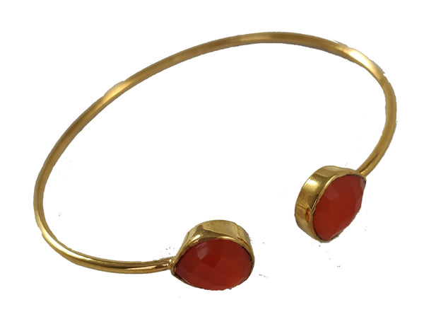 Beautiful bracelet with Carnelian
