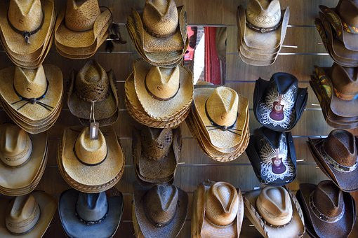 History of Hats 'bite 2' - Wide Brimmed and Pointy Hats