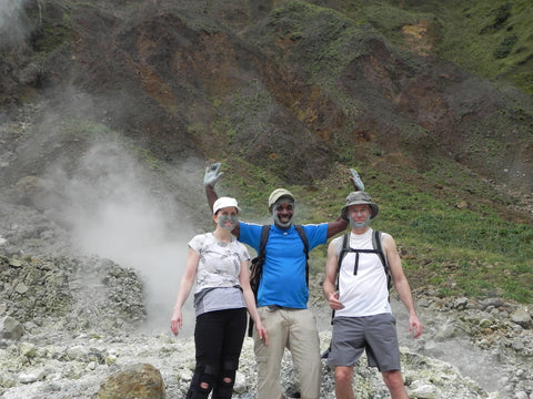 Hiking the Caribbean / Dominica - Protect yourself from the sun with an Urban Canairie Hat