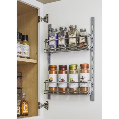 Spice Rack for Cabinet and Pantry Door Mount, Cabinet Organizer, Hardware Resources, Select My Cabinetry, Kitchen cabinets, Philadelphia cabinets, Discount kitchen cabinets, Buy Kitchen Cabinets Online,