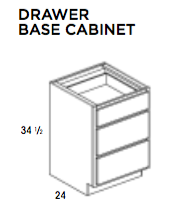 DRAWER BASE CABINET-York, Base, Wolf, Select My Cabinetry, Kitchen cabinets, Philadelphia cabinets, Discount kitchen cabinets, Buy Kitchen Cabinets Online,