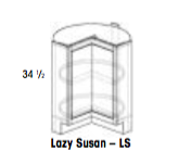 Lazy Susan -York, Base, Wolf, Select My Cabinetry, Kitchen cabinets, Philadelphia cabinets, Discount kitchen cabinets, Buy Kitchen Cabinets Online,