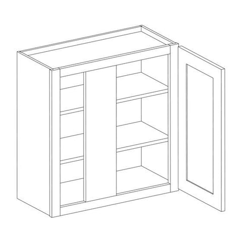 White Shaker RTA Kitchen Cabinets – Select My Cabinetry