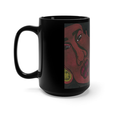 AstrØBabyz - ARIES - Black Mug 15oz