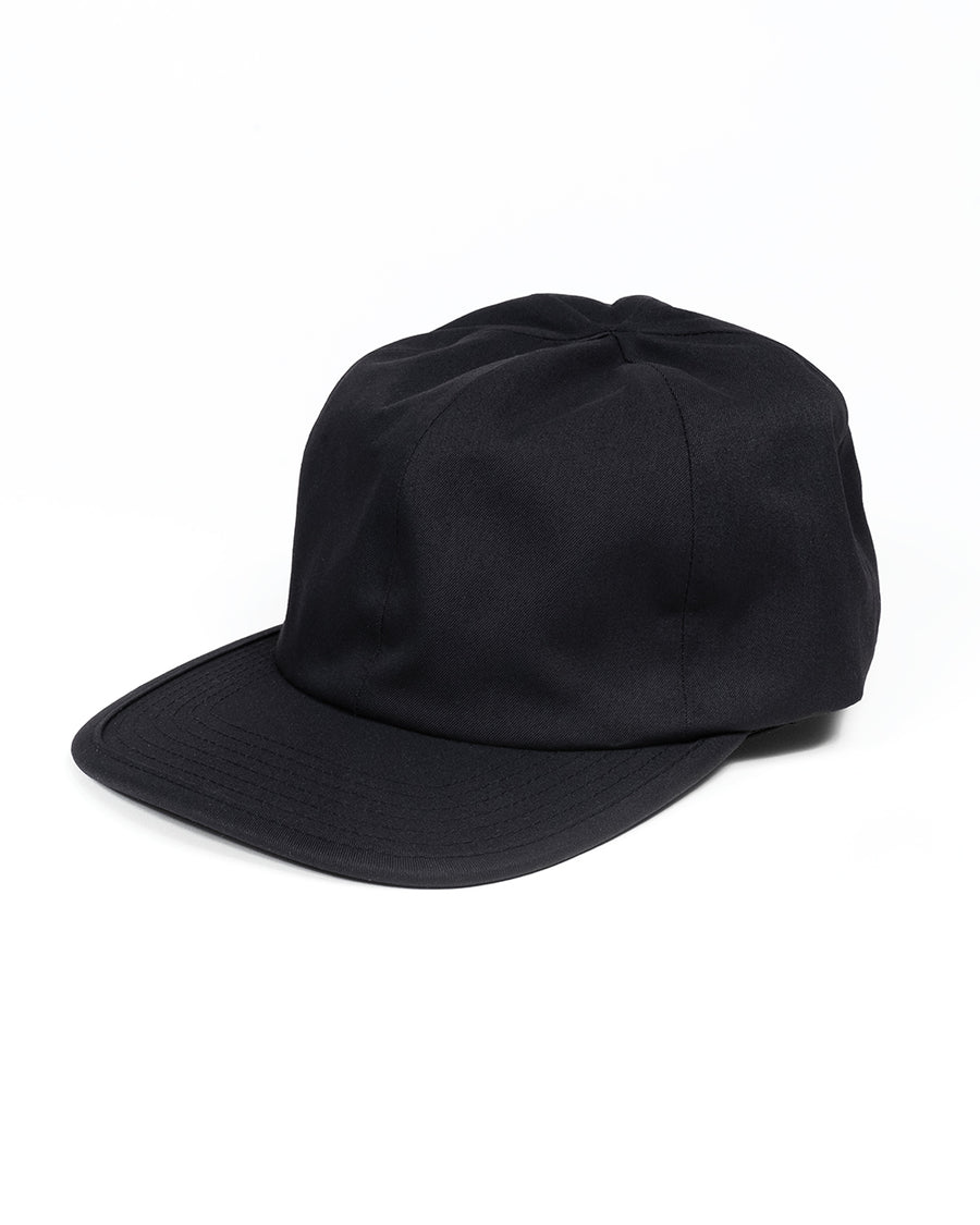 THE ARVO  CAP - BLACK