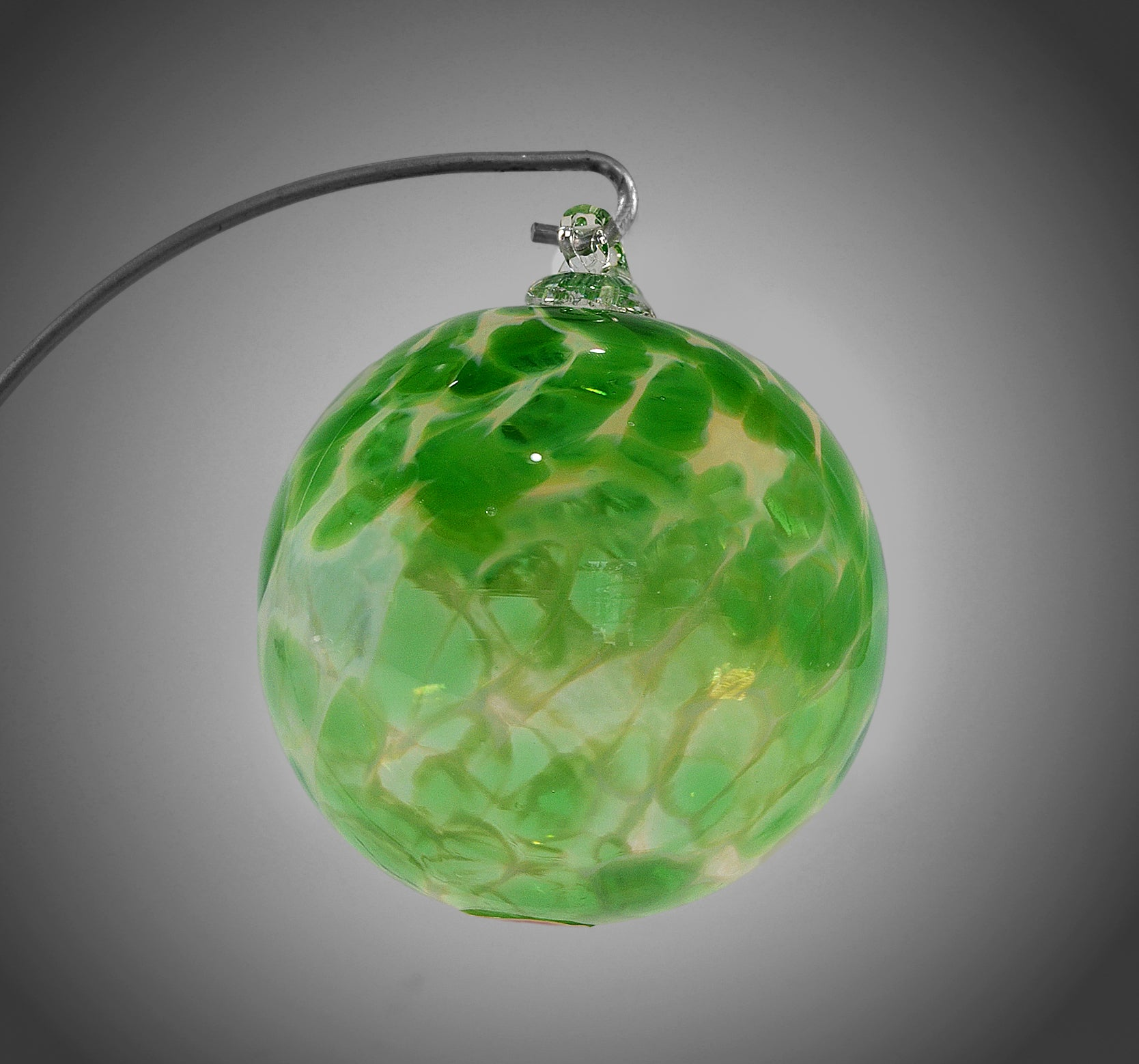 Green Cloud Ornament