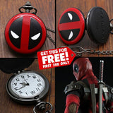 FREE: 2015 DEADPOOL POCKET WATCH