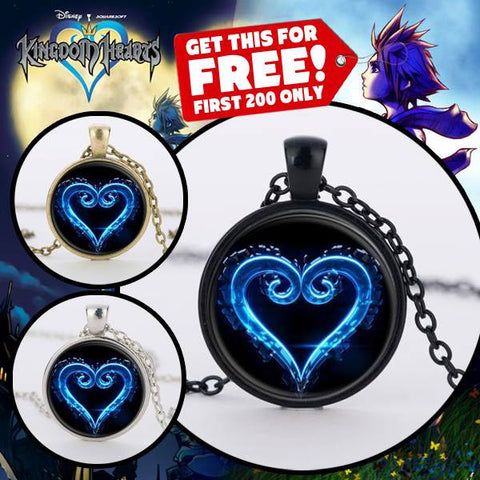 (FREE) KINGDOM HEARTS 3 NECKLACE