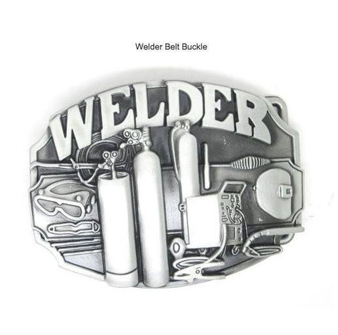 Awesome Weldors Belt Buckle