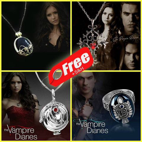 The Vampire Diaries Jewelry Bundle