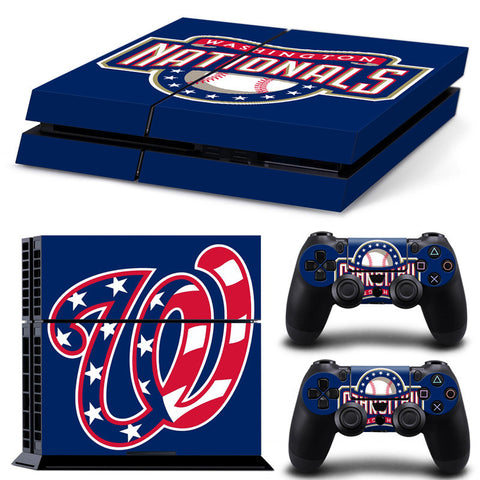 Washington Nationals PS4 Skin
