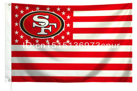 NFL FLAG SAN FRANCISCO 49ERS 3X5FT