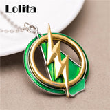 The Flash And Arrow Pendant Necklace Limited Edition Style