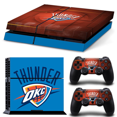 Oklahoma City Thunder PS4/XBox One Skin For Console + 2 Controllers