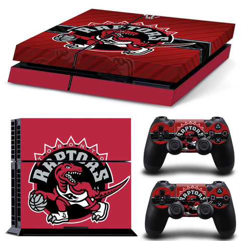 Toronto Raptors PS4 Skin For Console + 2 Controllers