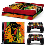 Chicago Blackhawks Pride Sticker Skin For Console + 2 Controller Stickers