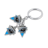 Antique-Style Carolina Panthers Metal Keychain Sports Gift