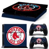 Boston Red Sox Baseball PS4/XBox One Skin for Console + 2 Controllers