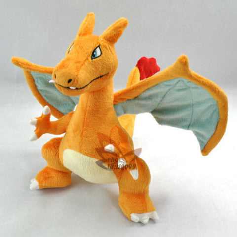 "New 13"" CHARIZARD Pokemon Rare Soft Plush Toy"