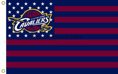 Cleveland Cavaliers  Flying Cavs Nation Flag