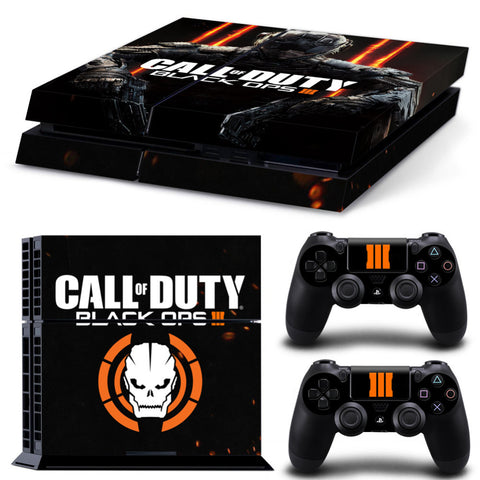 Call Of Duty Black Ops 3 Edition PS4 Console + 2 Controller Skin Set