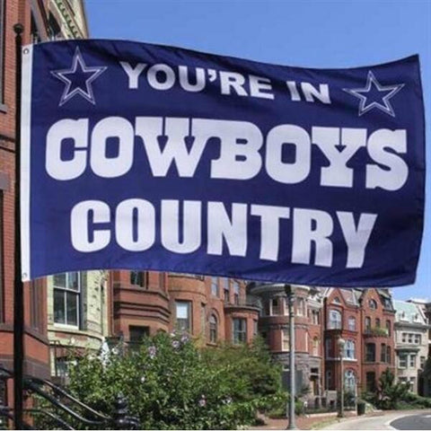 Dallas Cowboys Country Polyester Waving Flag