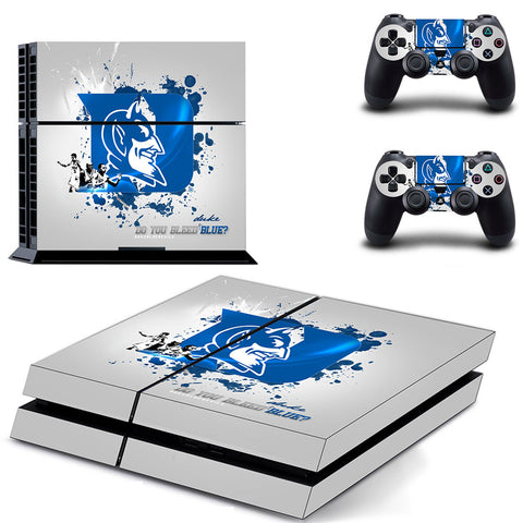 Duke Basketball PS4/XBOX ONE Console Skin + 2 Controllers