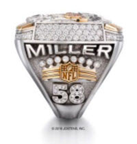 Denver Broncos 2015 Super Bowl 50 Championship Ring