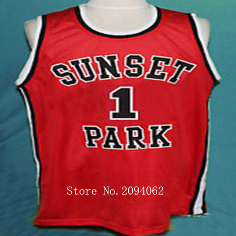 """Sunset Park""Shawty Edition Basketball Jersey"
