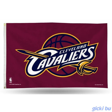 Cleveland Cavaliers Polyester 3 X 5 Waving Flag
