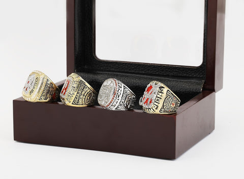 ((FREE SHIPPING)) Full Set 1992 2009 2011 And 2012 Alabama Crimson Tide National Championship Rings