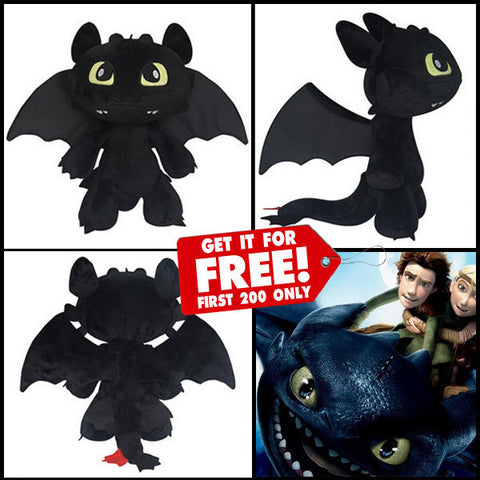 2015 HOW TO TRAIN YOUR DRAGON PLUSH DOLL