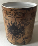 HARRY POTTER MARAUDERS MAP MORPHING MUG- COLOR CHANGING