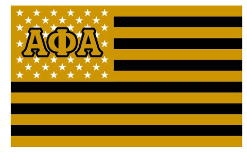 Alpha Phi Alpha Stars and Stripe Flag